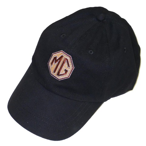 Hat Embroidered Mg Logo Black