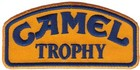 Camel Trophy embroidered patch