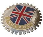 ENGLAND CAR GRILLE BADGE