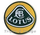 LOTUS PORCELAIN SIGN