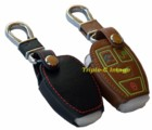 REMOTE LEATHER CASE - MERCEDES 3 BUTTON