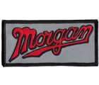 MORGAN SCRIPT EMBROIDERED PATCH (PATCH#21)