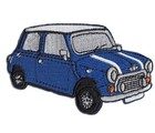 PATCH - MINI CUT-OUT BLUE CAR