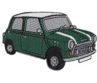 PATCH - MINI CUT-OUT GREEN CAR