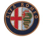 ALFA ROMEO EMBROIDERED PATCH