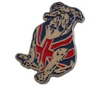 UNION JACK BULLDOG LAPEL PIN (P-GB_DOG)