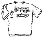 WE HAVE A TRIUMPH - KIDS TEE SHIRT (T-TR/KIDS)
