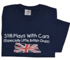 STILL PLAYS WITH CARS T-SHIRT (T-SPWC)