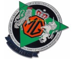 MG LEGENDS GRILLE BADGE