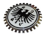 ADAC CAR CLUB GRILLE BADGE
