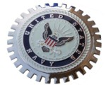GRILLE BADGE - US NAVY