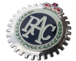 RAC GRILLE BADGE