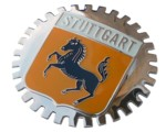 STUTTGART CAR GRILLE BADGE
