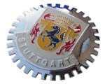 GRILLE BADGE - STUTTGART 2ND