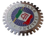 GRILLE BADGE - TOURING CLUB ITALIANO
