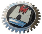 GRILLE BADGE - WOLFBURG