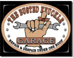 SIGN - BUSTED KNUCKLE GARAGE
