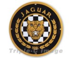Jaguar Enamel Sign