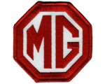 "PATCH - MG RED/WHITE 3"" WIDE"