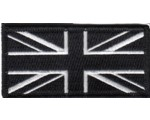 PATCH - BLACK UNION JACK