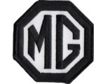 "PATCH - MG BLACK/WHITE 3"" WIDE"