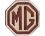 "PATCH - MG BROWN/BEIGE 3"" WIDE"