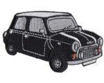 PATCH - MINI CUT-OUT BLACK CAR
