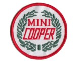 MINI COOPER WREATH PATCH