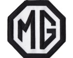 "PATCH - MG BLACK/WHITE 6"" WIDE"