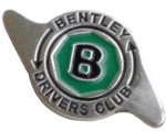 BENTLEY DRIVERS CLUB LAPEL PIN