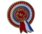 BMC ROSETTE LAPEL PIN