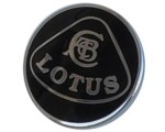 LOTUS LAPEL PIN - BLACK