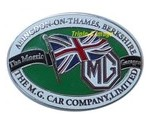 Lapel Pin - MG Abingdon On Thames
