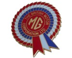 MG/BMC ROSETTE LAPEL PIN