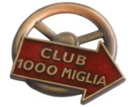 MILLI MIGLIA 1000 CLUB LAPEL PIN