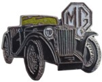 MG TC LAPEL PIN