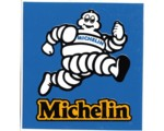 DECAL - MICHELIN MAN RECTANGLE DECAL