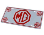 MG LICENSE PLATE - TAG