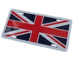 UNION JACK LICENSE PLATE - TAG