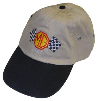 HAT - MG CHECKERED FLAGS (HAT-MG/CHEQ)