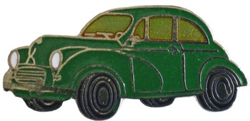 MORRIS MINOR SALOON LAPEL PIN (P-MORRIS/M)