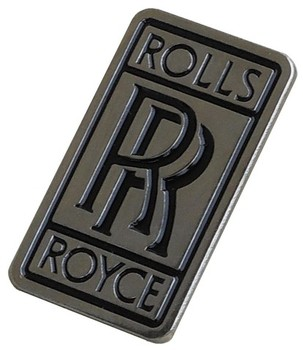 ROLLS ROYCE LARGE LAPEL PIN (P-RR_LG)