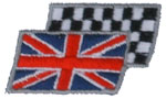 Union Jack -Checkered Flag
