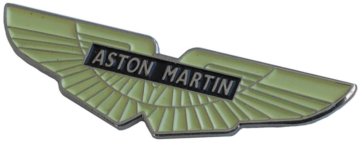 Aston Martin V12 Vanquish Lapel Pin Anthony Holt Sterling ...