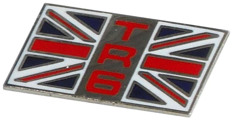 Triumph Tr6 Flag Lapel Pin