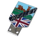 HEALEY DRIVERS CLUB GRILLE BADGE