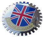 UNITED KINGDOM GRILLE BADGE