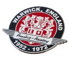 AUSTIN-HEALEY WARWICK GRILLE BADGE