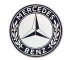 MERCEDES PORCELAIN SIGN (DD_ME)