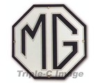 MG OCTAGON PORCELAIN SIGN (DD_MG)